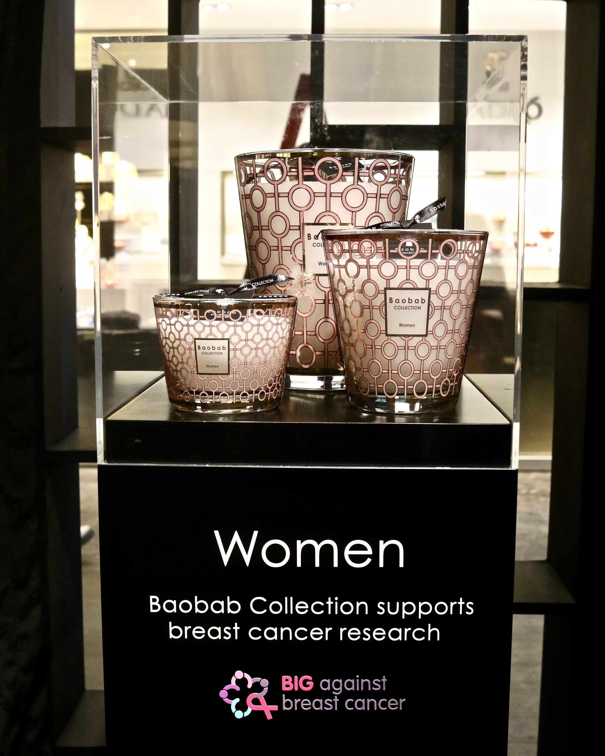 baobab collection s new candle supports breast cancer research. Black Bedroom Furniture Sets. Home Design Ideas