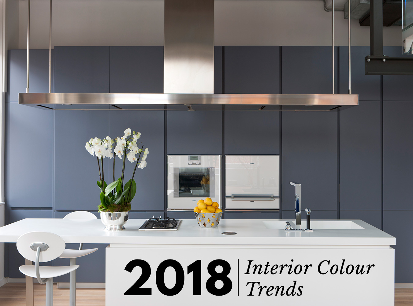 The use of colour in interior decor is extremely important for bringing personality and character to a room even simply adding a pop of colour can change