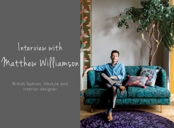 Interview with Matthew Williamson