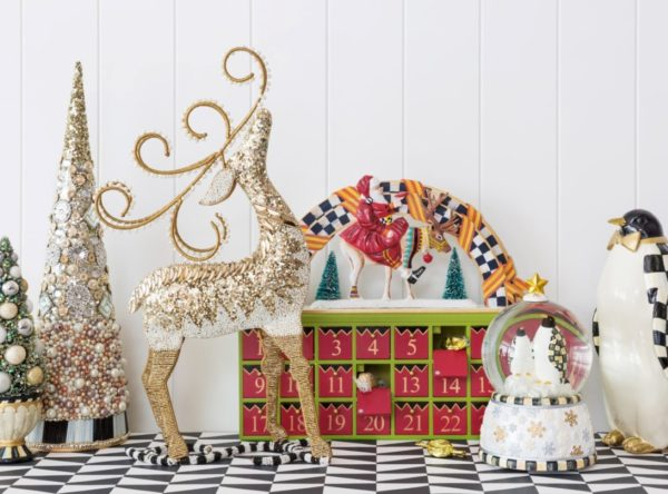 Create a Whimsical Winter Wonderland with the MacKenzie-Childs Christmas Collection