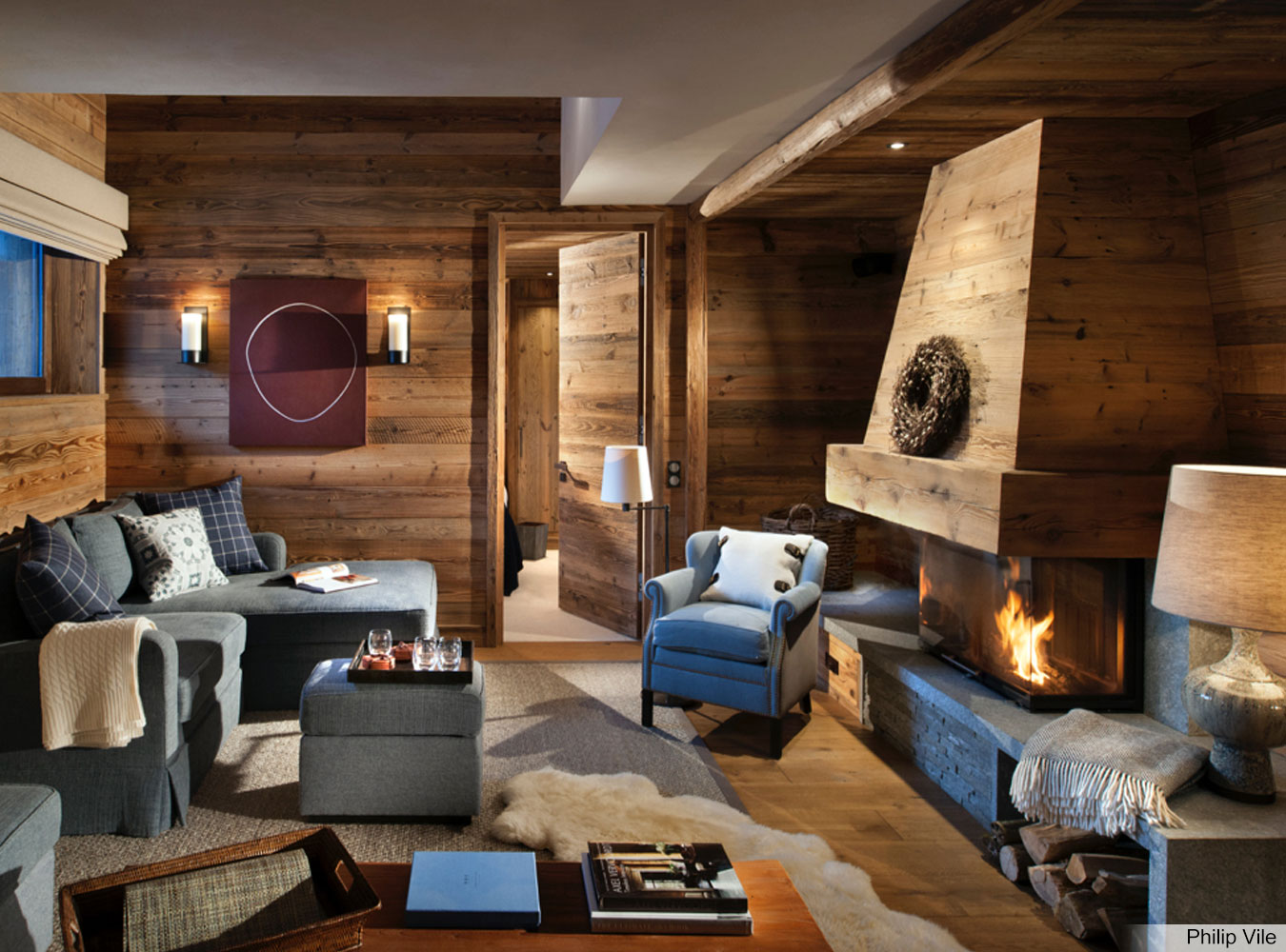 Ski Chalet Interior Design cosy val d'isere chalet design to get you ready for ski season
