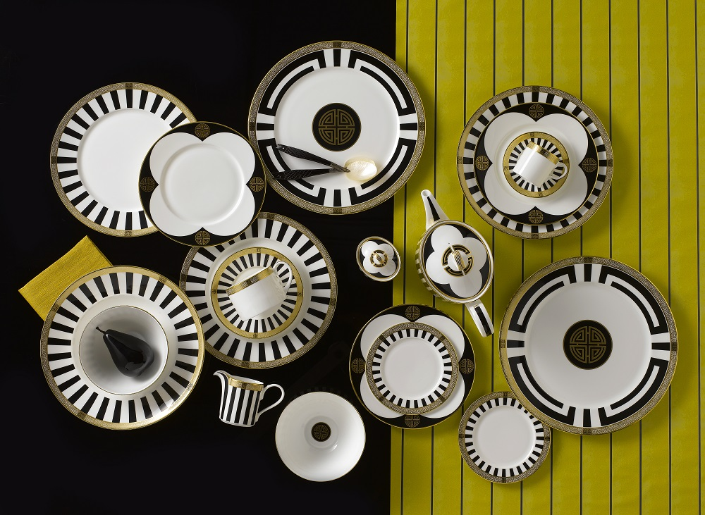 Art Deco tableware