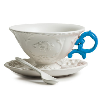 I-Wares Porcelain Tea Set - Light Blue