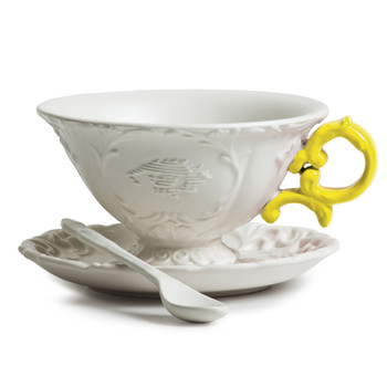 I-Wares Porcelain Tea Set - Yellow
