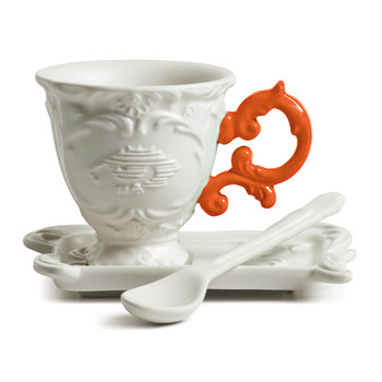 Service à Café Porcelaine I-Wares - Orange