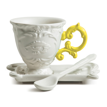 I-Wares Porcelain Coffee Set - Yellow