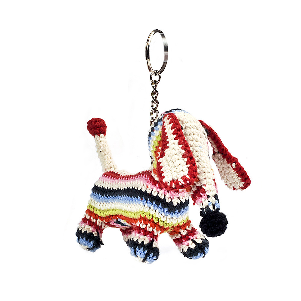 anne claire petit dachshund crochet keyring gay times. Black Bedroom Furniture Sets. Home Design Ideas