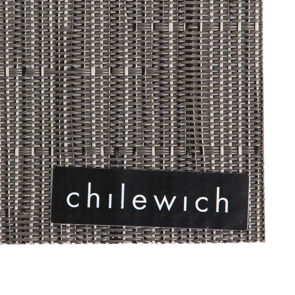 Chilewich - Bamboo Rectangle Placemat - Gray Flannel