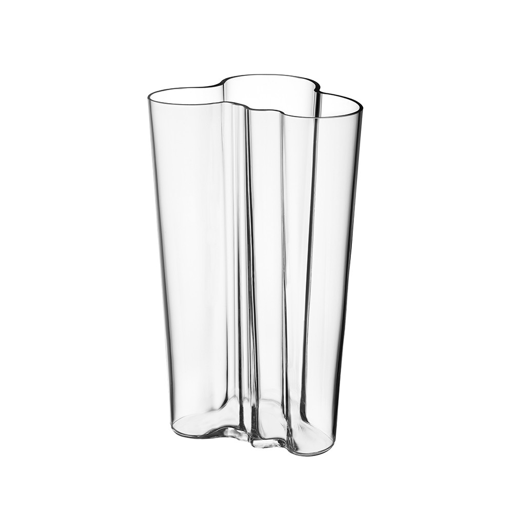 buy iittala aalto vase 20cm clear amara. Black Bedroom Furniture Sets. Home Design Ideas