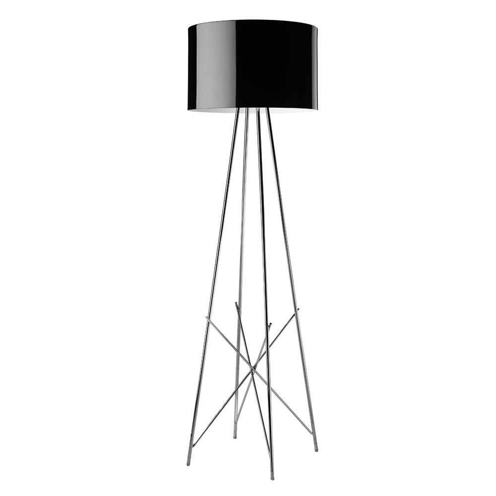 buy flos ray f floor lamp black amara. Black Bedroom Furniture Sets. Home Design Ideas