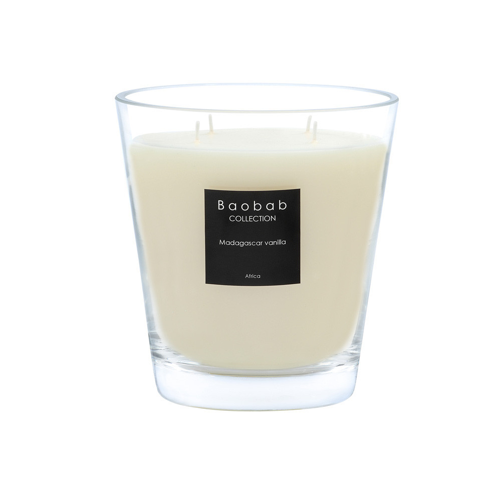 Baobab Collection - Scented Candle - Madagascar Vanilla - 16cm