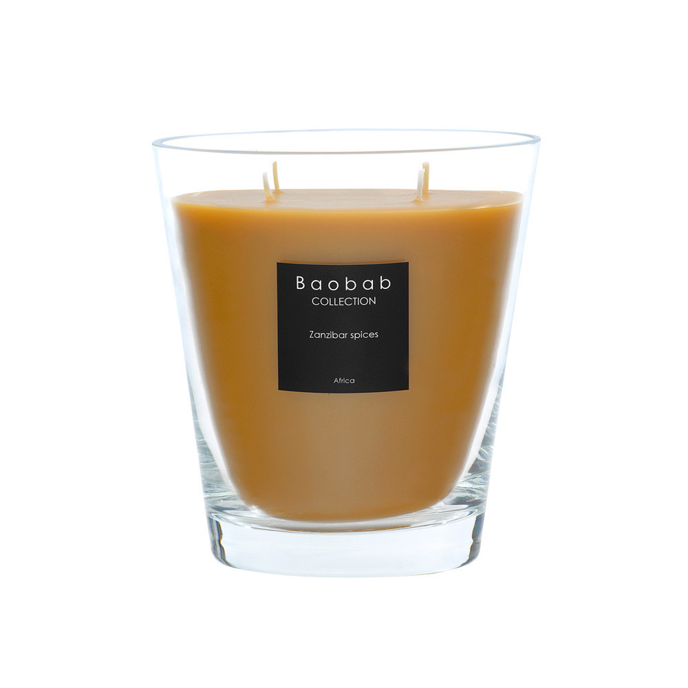 Baobab Collection - All Seasons Scented Candle - Zanzibar Spices - 16cm
