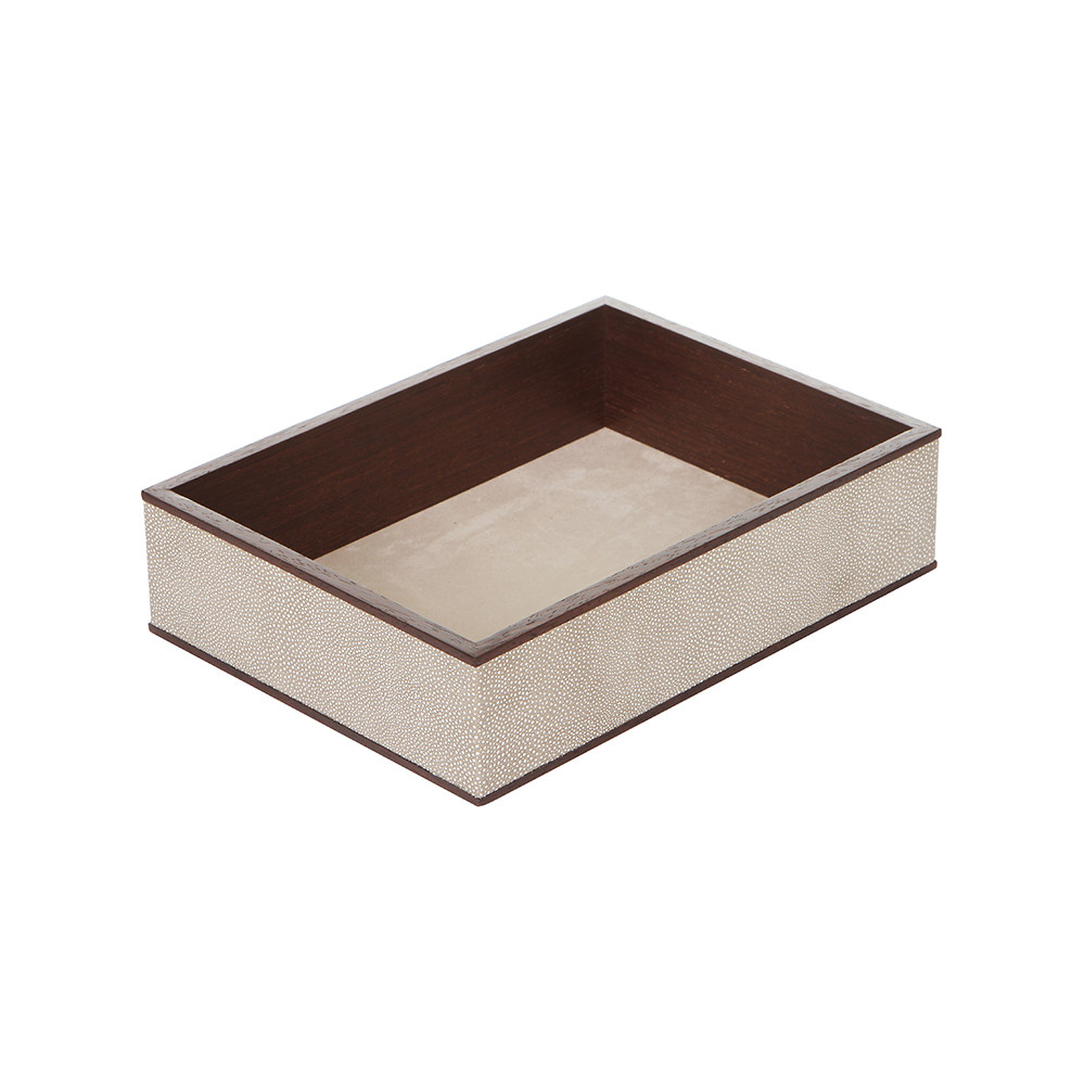 Alexander James - Wenge  Smoke Shagreen In-Tray