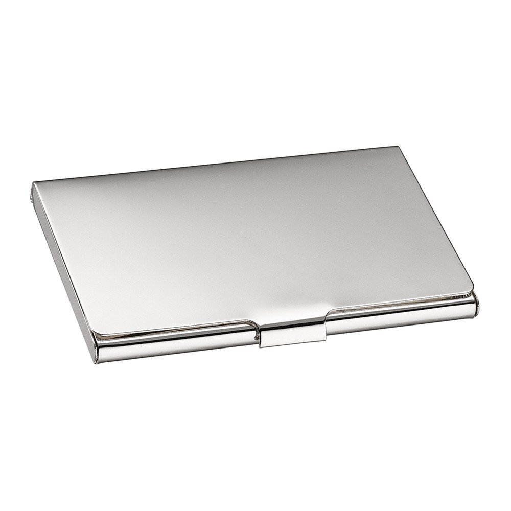 christofle uni business card holder  amara