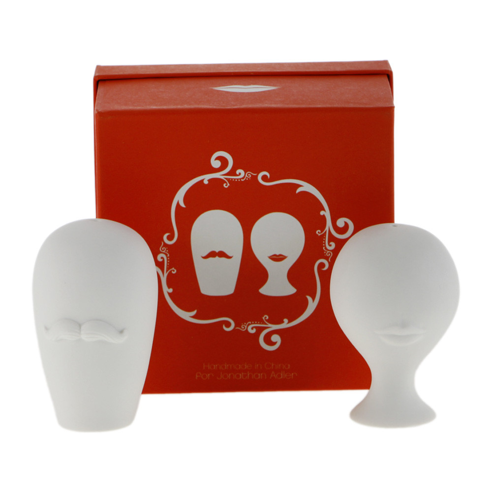 Jonathan Adler - Mr & Mrs Salt & Pepper Shakers - Mr & Mrs