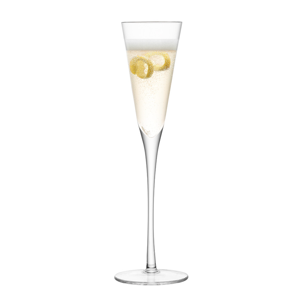 LSA International - Lulu Champagne Flutes - Set of 4 - Assorted