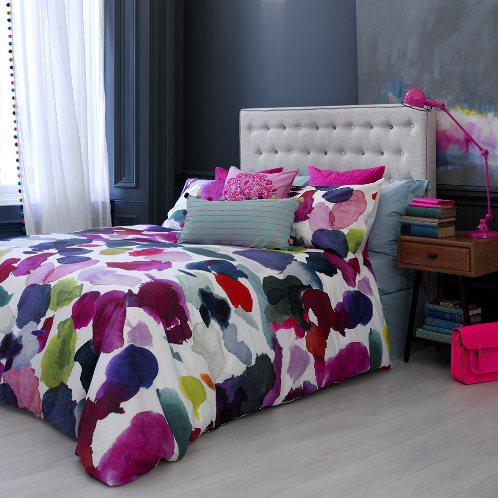 Bluebellgray - Abstract Duvet Cover - Double
