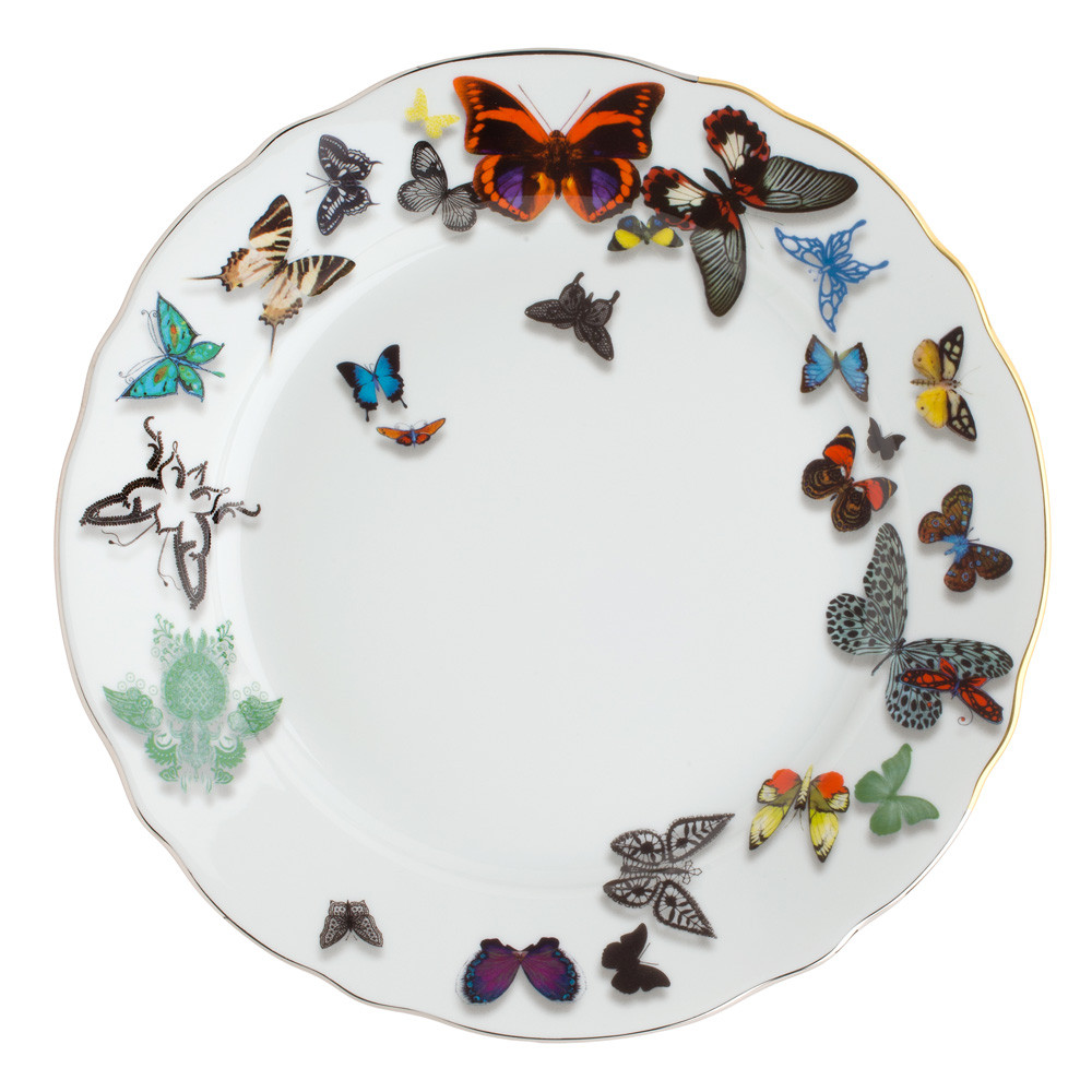 Christian Lacroix - Butterfly Parade Dinner Plate