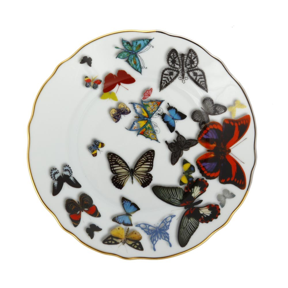 Christian Lacroix - Butterfly Parade Bread  Butter Plate