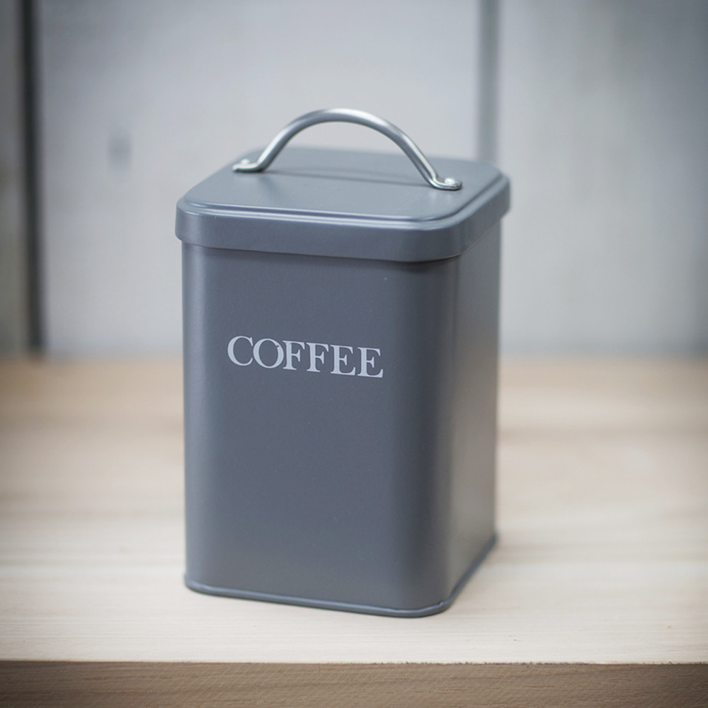 Garden Trading - Coffee Canister - Charcoal - Charcoal