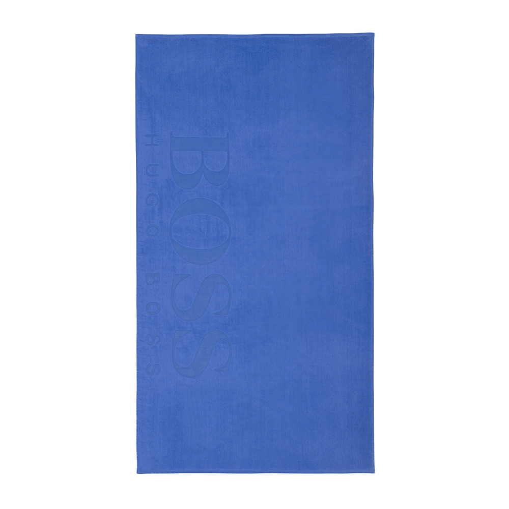 Hugo Boss - Carved Beach Towel - Cobalt