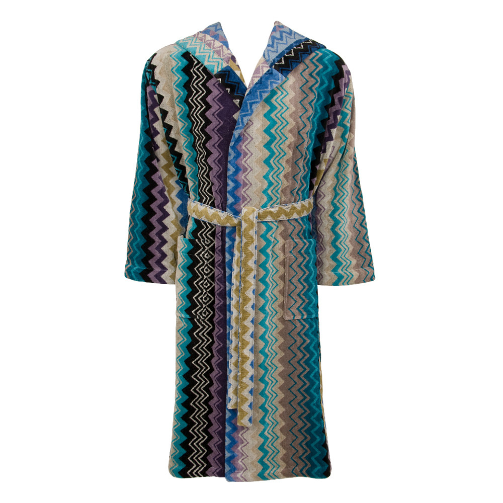 buy missoni home giacomo hooded bathrobe    amara -