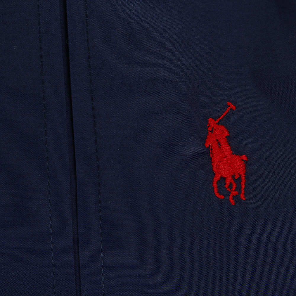 Polo Player Pillowcases Navy Set Of 2 50x75cm