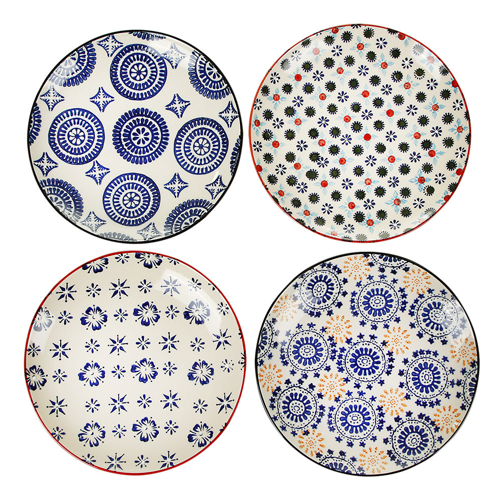 Next  sc 1 st  Amara & Buy Pols Potten Mosaic Plates - Set of 4 | Amara