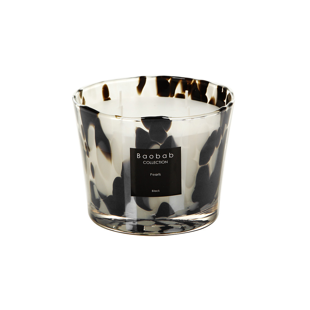 Baobab Collection - Pearls Scented Candle - Black Pearls - 10cm