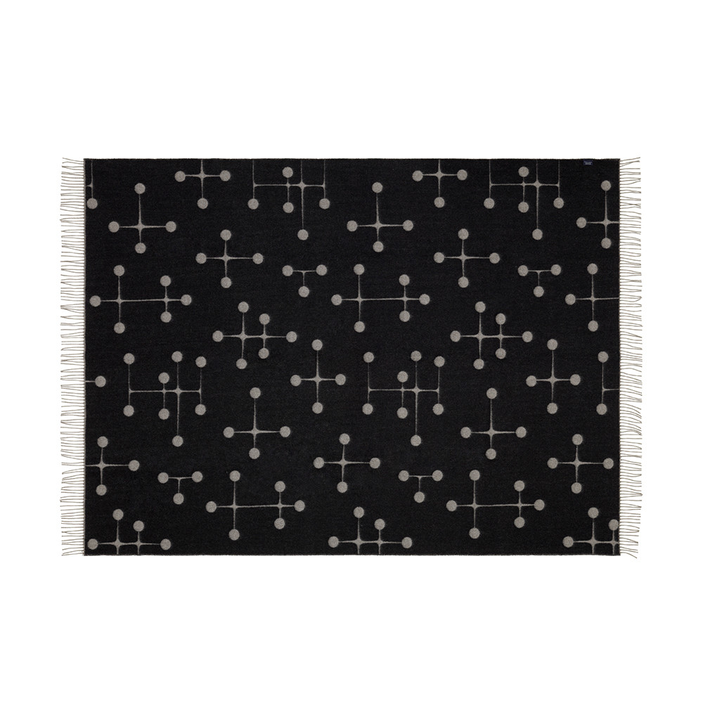 Vitra - Eames Dot Pattern Blanket - Black