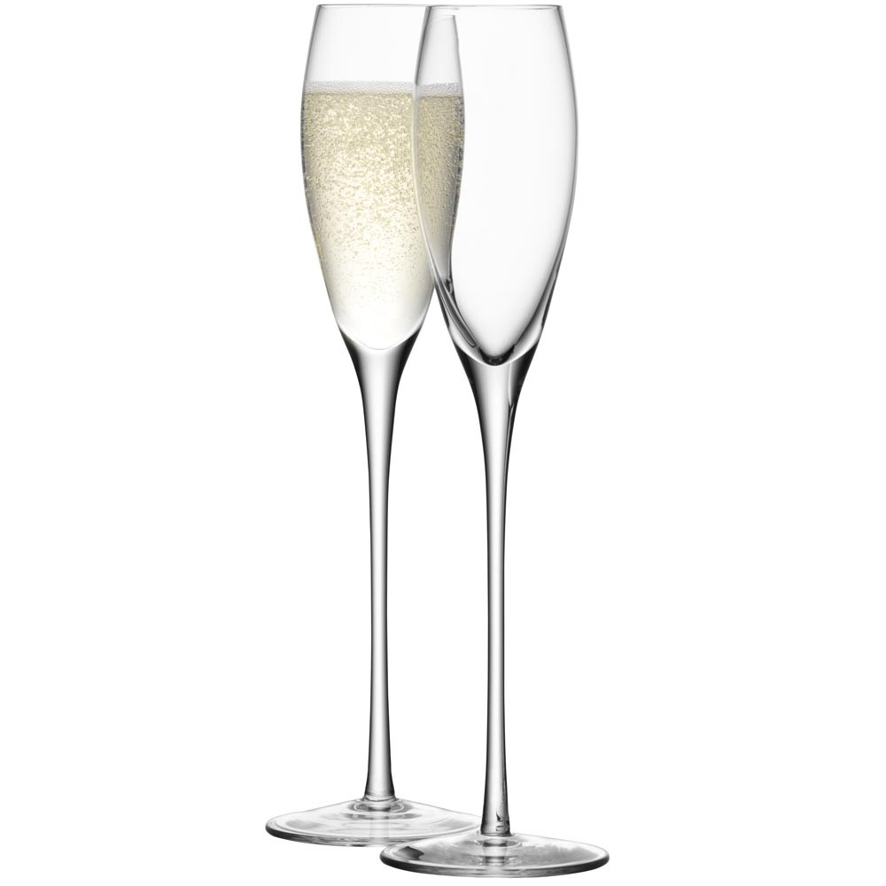 LSA International - Wine Champagne Flutes - Set of 4