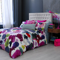 Bluebellgray - Abstract Duvet Cover  - King
