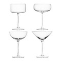 LSA International - Lulu Cocktail Glasses - Set of 4 - Assorted