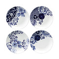 Loveramics - Willow Love Story Side Plates - Set of 4 - 15cm