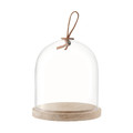 LSA International - Ivalo Pastries/Cheese Dome & Ash Base - 15cm Dia.