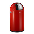 Wesco - Pushboy Bin - 50L - Red