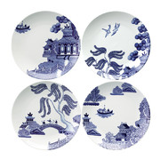 willow-love-story-set-of-4-salad-plates-21cm