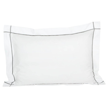Athena Platine Pillowcase - 50x75cm