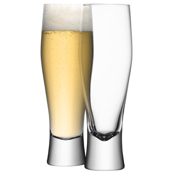Bar Lager Glasses - Set of 4