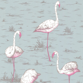 Flamingos Wallpaper - 66/6044