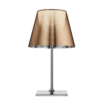 KTribe T Table Lamp On/Off Switch - Polished Bronze - T2
