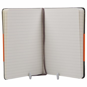 Hardback Pocket Ruled Notebook - Black