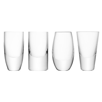 Lulu Vodka Glasses - Set of 4 - Assorted