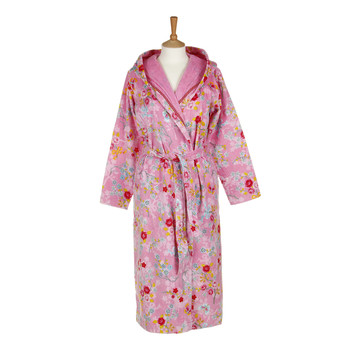 Chinese Blossom Bathrobe - Pink