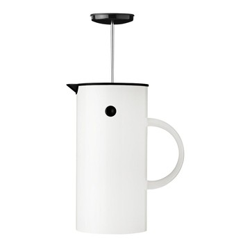 EM French Press - White