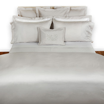 Langdon Quilt Cover - Silver