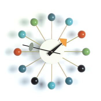 Ball Clock - Multi-coloured
