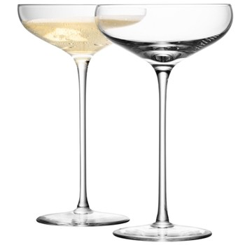 Wine Champagne Saucers - Set of 4