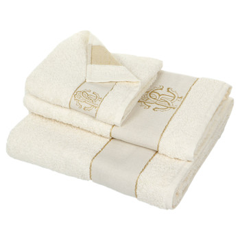 Araldico Towel - Cream