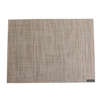 Basketweave Rectangle Placemat - Latte